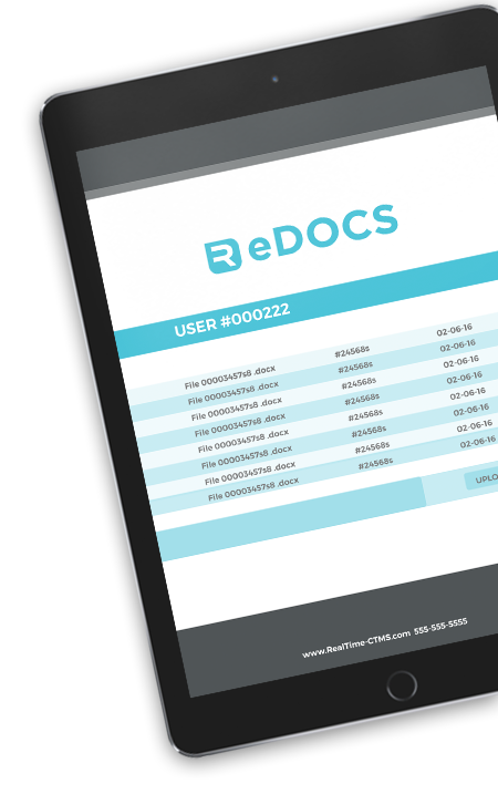 edocs RealTime-CTMS Clinical Trial Management Systems Software