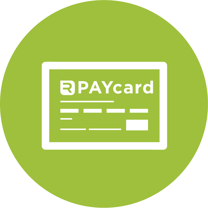 Branded PAYcards credit card prepaid loaded money payment gift card RealTime-CTMS Site Pay